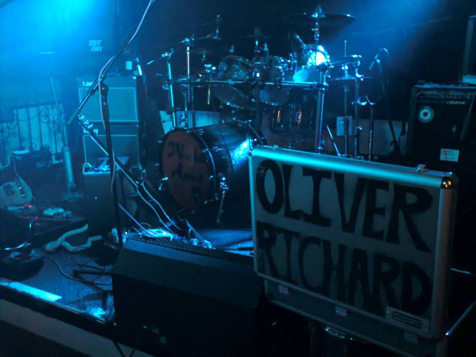 Oliver Richard live gear