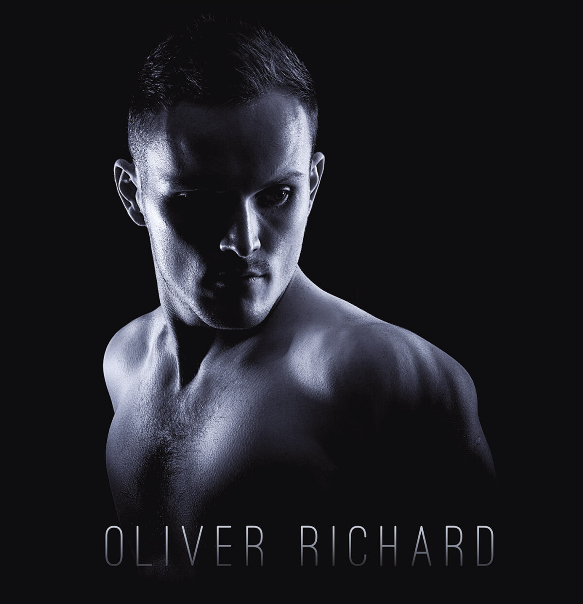 Oliver Richard White Finger Cover