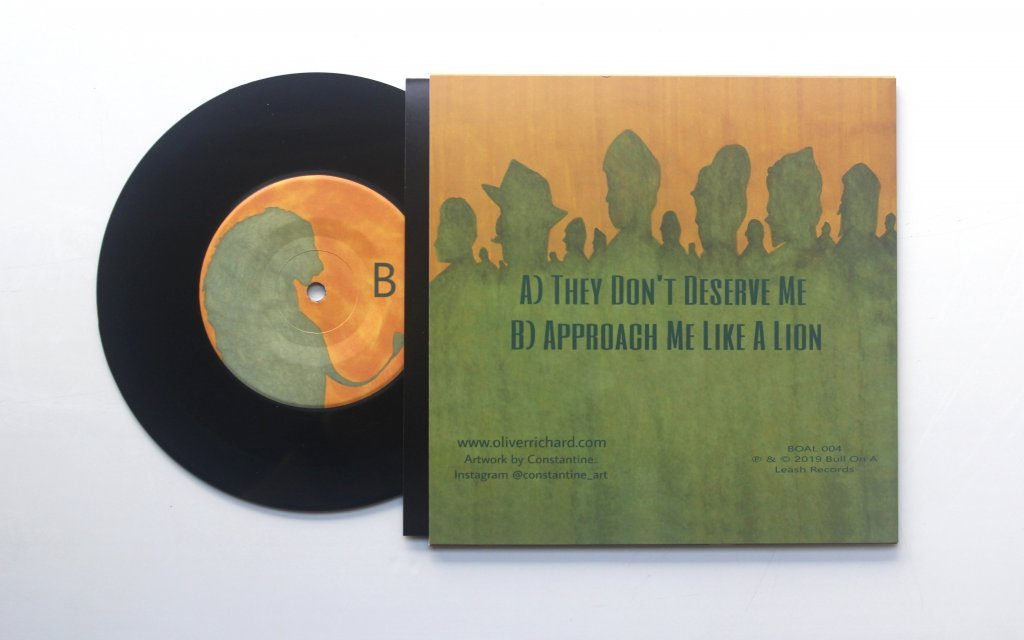 "They Don't Deserve Me 7"" Single Back Cover"