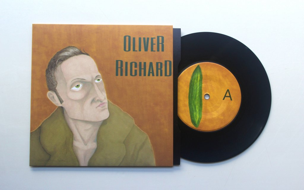 "They Don't DesThey Don't Desrve Me 7"" Single Oliver Richard Front Coverrve Me 7"" Single Oliver Richard"