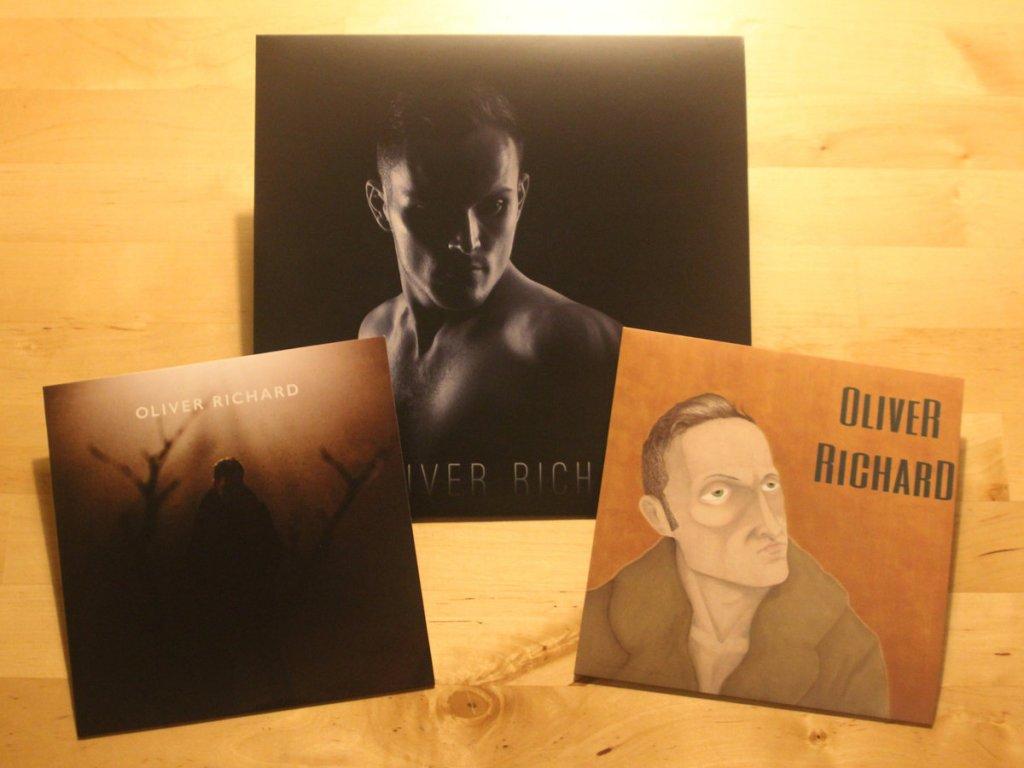 Oliver Richard Vinyl Record Bundle